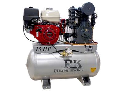 Compresseur Industriel Honda 13 HP, réservoir 30 gal.